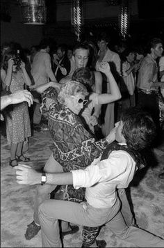 """Born in 1900, Sally Lippman earned her """"Disco Sally"""" moniker through the crazy dance moves she brought to Studio 54 during her widowhood."""