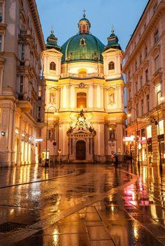Katholische Kirche St. Peter, Vienna, #Austria #Travel #Cathedral