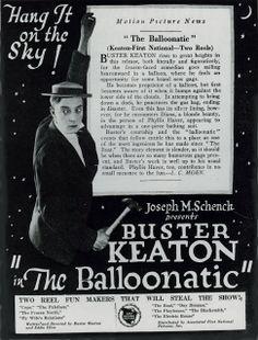 "Buster Keaton's ""The Balloonatic"""