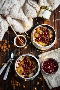 picante-jalapeno.blogspot.com: Zimowa owsianka na mleku migdałowym  z karmelizowa...