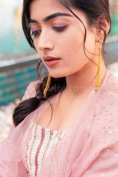 Pics: Rashmika Mandanna looks cool at pool side Lovely Girl Image, Beautiful Girl Photo, Cute Girl Photo, Beautiful Girl Indian, Stylish Girls Photos, Stylish Girl Pic, Girl Photos, Most Beautiful Bollywood Actress, Beautiful Actresses