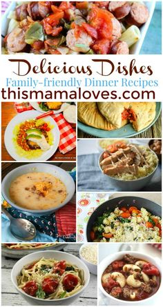 Delicious Dishes Recipe Party: Family Friendly Dinners