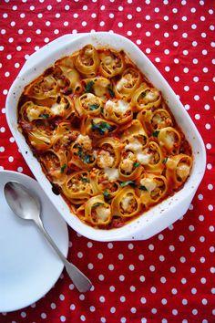 Polish Recipes, Spaghetti, Pierogi, Ethnic Recipes, Desserts, Food, Gratin, Tailgate Desserts, Deserts
