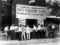 The Anti-Evolution League, 1920. Today's situation in Turkey reminded me of the 1920s here.