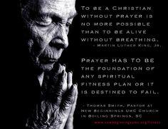 Quotes about prayer as a Spiritual Discipline