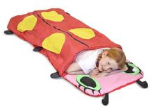 Melissa and Doug Sunny Patch - Mollie Sleeping Bag Snug as a bug takes on a whole new meaning when your child is curled up in this cozy ladybug sleeping bag. Baby Camping Gear, Camping With A Baby, Toddler Sleeping Bag, Girl Sleeping, Kids Bags, Toddler Toys, Trendy Baby, Bag Storage, Cute Kids