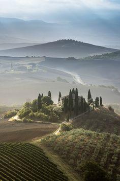 Toscane, San Quirico d'Orcia, Val d'Orcia