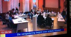 De gemeenteraad van Vlaardingen live op Tv.