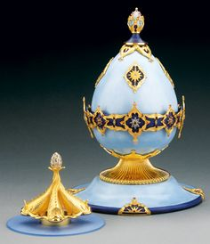 Millennium Fountain Masterwork Egg by Theo Faberge