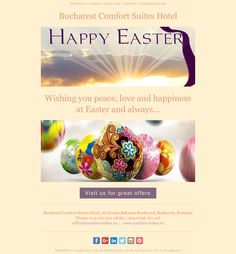 Happy Easter Wishes, Bucharest, Business Travel, Hotel Offers
