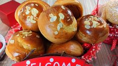 Easter Cookies, Easter Treats, Dessert Recipes, Desserts, Greek Recipes, Caramel Apples, Muffin, Gluten Free, Cooking