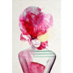Bold Fuchsia Art Print