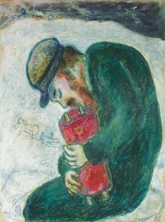 Marc Chagall (1887-1985). Meditation, 1930, gouache and pastel on paper, 58.2 x 45 cm