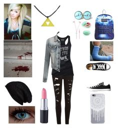 """""""First day of hell-Katie (RP)"""" by twilightfreak18-1 ❤ liked on Polyvore featuring JanSport, River Island, Aesop, Halogen, Converse and LE3NO"""