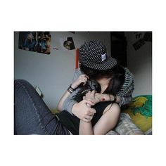 emo couple | Tumblr ❤ liked on Polyvore featuring couples and people