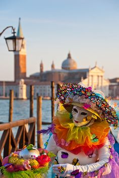 The Spirit of Spring, Carnival of Venice, Italy-weren't these things in Assassins Creed? Creepy as hell