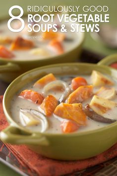 Check out our popular fall soups and stews.