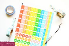 FREE PRINTABLE: Bill Due and Pay Day Planner Stickers