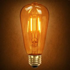 Demand for LED Edison Bulbs Grows Due to Low Price; Long Life