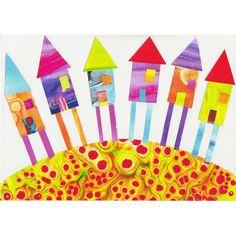 Children Decor Nursery Art Print Houses) ($20) ❤ liked on Polyvore