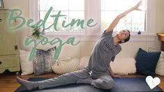 yoga with adriene 20 min bedtime yoga youtube; hands free; no plank, no downward facing dog; small space yoga; yoga you can do everywhere