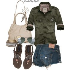 So cute...but the shorts are way too short! I'd wear my Silver shorts instead : )  Yes please!