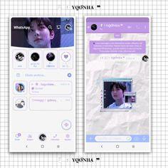 Whatsapp Theme, Fanart, Windows Operating Systems, Soft Purple, Kpop, Homescreen, Cyber, Polaroid Film, Wallpaper