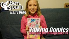 Eva Reviews It! Jem and the Holograms #1 Eva and I discuss Jem and the Holograms #1. I have been collecting this comic book series since it started in March of 2015. I let Eva read the first issue unsupervised at that time but have decided that we will read this series together and discuss some things that are said int he comic that should not be said in our house. It also gives Eva and I time to bond over something that I enjoyed as a kid and that I hope she enjoys as we share it together.