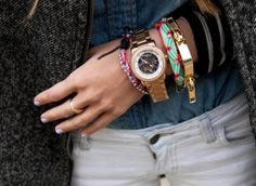 Inspirational arm candy