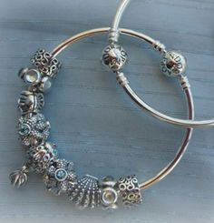 Pandora bracelet summer bangle.. Love it