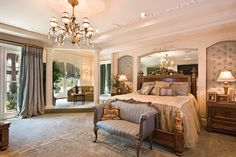 Love the little attached sitting room