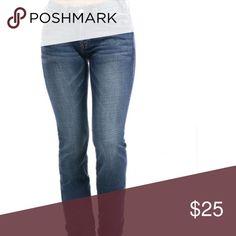 1de639e541d052 THE LIMITED DENIM 312 straight blue jeans size 12 SUPER CUTE ... The ...