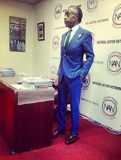 Al Sharpton at his Book Signing