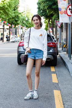 Street Style Park Minyoung, Seoul