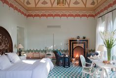 Suite Nine at Palazzo Margherita, Luxury Hotels in Italy