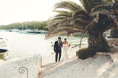 Destination Wedding at Restaurant Zori, Palmizana Croatia by Dalmatia Events & Photographer Maja Jokic - Full Post: http://www.brideswithoutborders.com/inspiration/destination-wedding-in-the-adriatic-islands-by-dalmatia-events