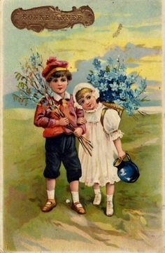 Divided Back Postcard Birthday Greeting Vintage Happy New Year, Pentecost, Vintage Easter, Birthday Greetings, Vintage Cards, Antiques, Painting, Postcards, Happy New Year
