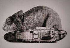 Very Slow, Very Tired Machine animals   Nicholas Lampert 2006