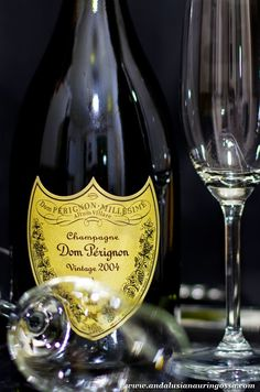 Our New Year's celebrations were made even more spectacular by Dom Perignon 2004 <3