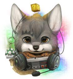 Commission for Wolftale by *Silverfox5213 on deviantART