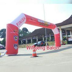 Balon Gate START FINISH, Wilujeng Balon Menjual, Menyewakan, dan Memproduksi dengan Harga Murah, Berbagai Jenis dan Ukuran, Design Full Printing.