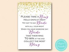 BS84-dont-say-bride-ring-purple bridal shower games