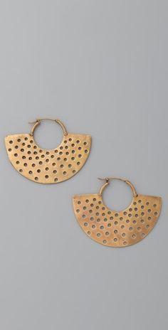 Great earrings.