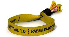 Tela - Dutchband - pulseras de tela, con cierre de aluminio, bordada, impresas