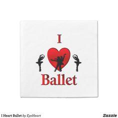 I Heart Ballet Paper