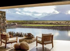 Three New Resorts for a Perfect Winter Getaway.       Vines Resort and Spa:  Mendoza, Argentina.