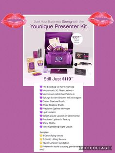 Message me. For details $337.00 worth of full size products for only $119.00