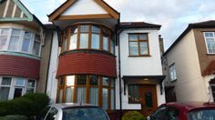 On A London visit in 2012, this is the boarding house I stayed in. It's in North Harrow.