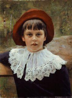Albert Edelfelt - Bertha Edelfelt - the Artist's Sister