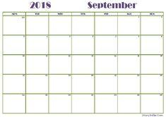 76 best september 2018 printable calendar images on pinterest in